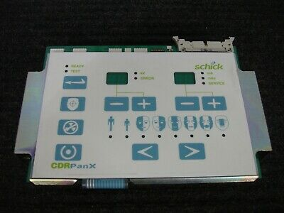 Schick Cdr Panx Panoramic Digital Dental X-ray Rj3 User Control Panel