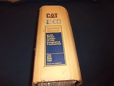 Cat Caterpillar 914g Wheel Loader It14g Toolcarrier Service Shop Repair Manual