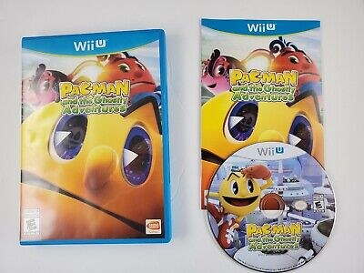 Pac-Man And The Ghostly Adventures Wii U Game 2012