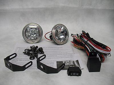 BlingLights 3 Inch Round Xtra 35 Watt Fog Light Driving Lamp Kit Non-Halo Model 3 Driving Lamp