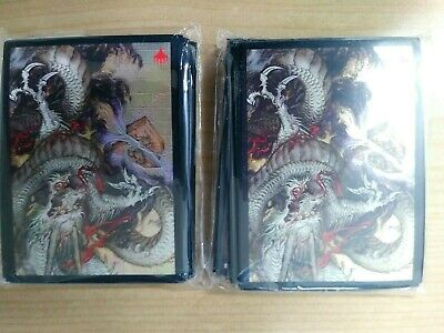 MTG, Strixhaven, APAC Promo, Alternate Art Sleeves 60 Countx2 EA: Divine Gambit