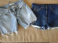 Shorts Levi's Vintage 30 Pezzi - Lotto Stock Jeans Levi's Usati - Shorts Levi's - levi's - ebay.it