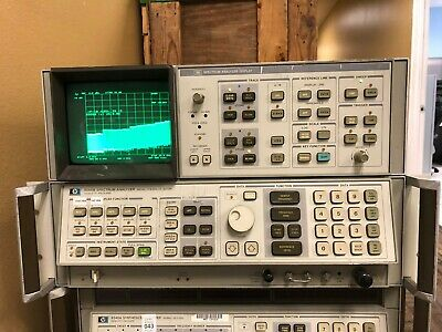 Hp Agilent 8566b 100 Hz- 22 Ghz Spectrum Analyzer With 85662a Display