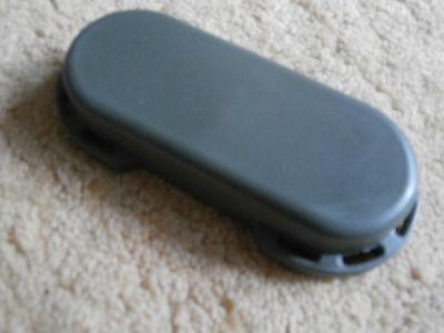 Regenschutz Okularschutz Schutzdeckel Fernglas Gummi grün, hoch (26 mm)