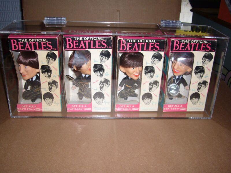 Custom Plexiglass Display Case for Beatles Remco Dolls