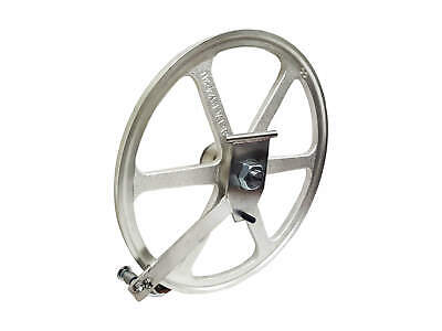 Biro Meat Saw Upper Wheel Pulley Assembly With Hinge Plate Replaces A16003u-6