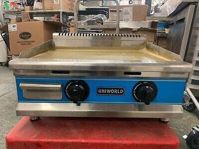 Uniworld Ugr-g24 24-inch Countertop Gas Griddle