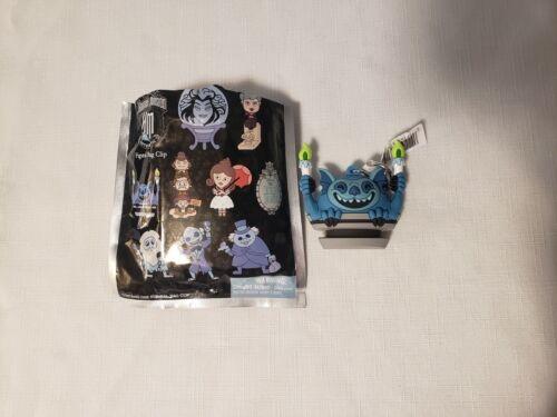 Disney Haunted Mansion Figural Bag Clip Keychain Foolish Mortal New