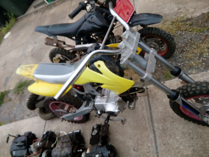 Pit bike's and parts
