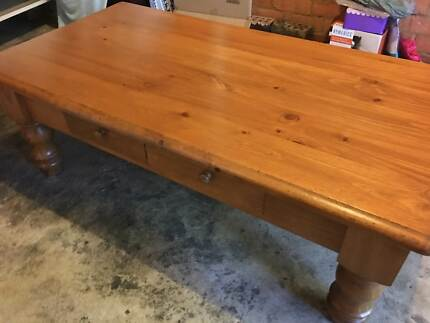 Brand New Solid Timber Coffee Table