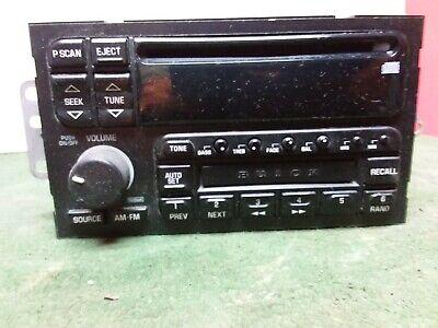 1996 - 2003 Buick Century Lesabre Park Avenue AM/FM CD player  Used OEM
