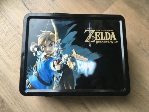 Nintendo Switch - Zelda Breath of the Wild - Metal Lunchbox!