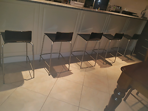 5 x SINTESI DESIGNER ITALIAN MADE BAR STOOLS Windsor Gardens Port Adelaide Area Preview