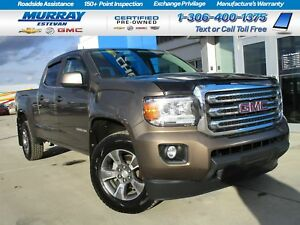 2015 GMC Canyon SLE! CREW! V6! REMOTE START! REAR CAMERA! 1 OWNE