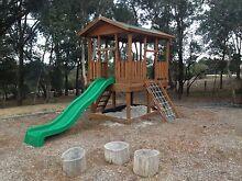 Adventure Fort with slide (Aaron's) Plenty Nillumbik Area Preview