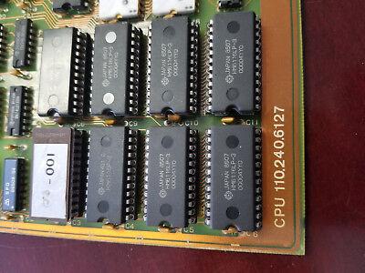 Netstal Control Circuit Board Cpu 110.240.6127 Injection Molding Machine