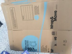 107L Moving Box 415mm x 445mm x 610mm only x2 left