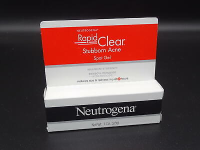 Neutrogena Rapid Clear Stubborn Acne Spot Gel, 1 Oz Exp 5/21!!!