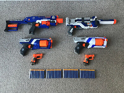 Nerf N-Strike Bundle Spectre Rev-5 Stockade Strongarm Jolt & 40 Darts