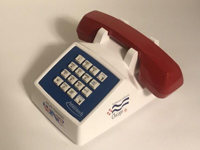 NEW 1996 DEMOCRATIC CONVENTION COMMEMORATIVE TELEPHONE LIMITED EDITION AMERITECH