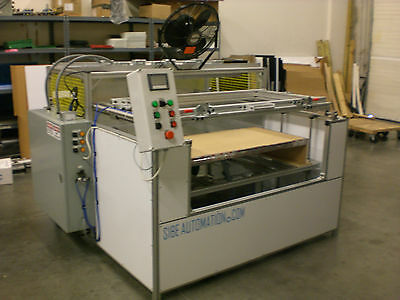Sibe Automation Vacuum Forming Machine 24 X 48 Thermoforming 8 Zone Infrared