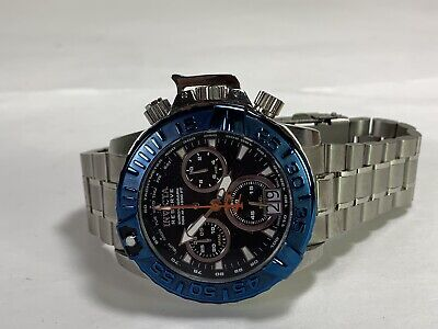 Men's Invicta 80339 Reserve Chronograph NOMA II Stainless Steel Subaqua Watch