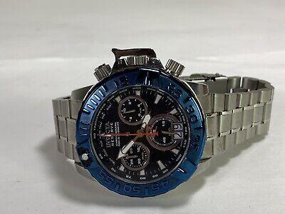 Men's Invicta 80339 Reserve Chronograph NOMA II Stainless Steel Subaqua Watch