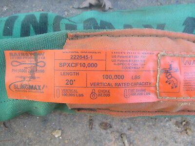 Bairstow Slingmax 100000 20 Ft. Sling Spfcx 10000