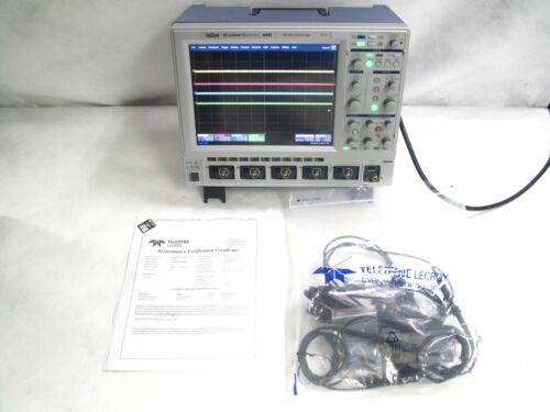Lecroy Waverunner 64xi 600mhz 10gs/s 4ch Oscilloscope | Factory Cal | Probes