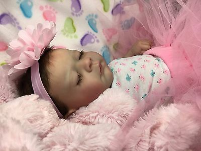 Adorable Reborn Baby Girl Bailey By Marcy's Lil' Rascal's