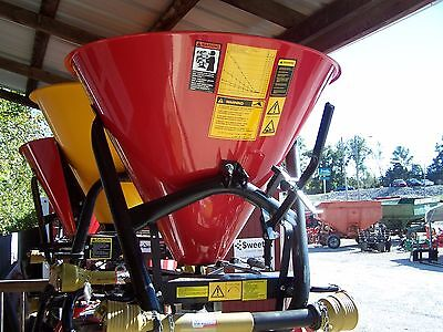 New Tar River Sss-300 3 Pt. Spreaderseeder --can Ship Fast And Cheap