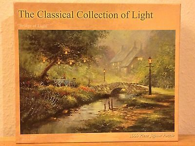 "Jigsaw Puzzle ""Bridge of Light"" 1000 Teile The Classical Collection of Light"