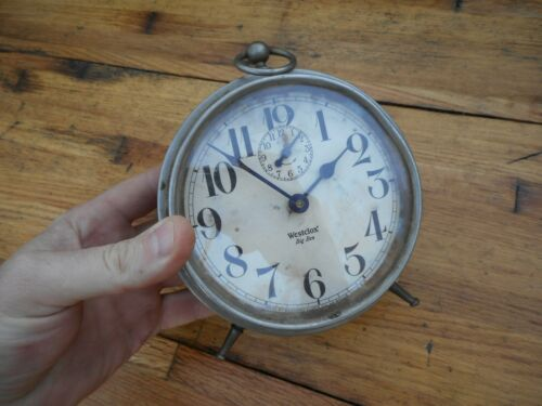 Antique Westclox USA Big Ben Alarm Clock Runs Works!