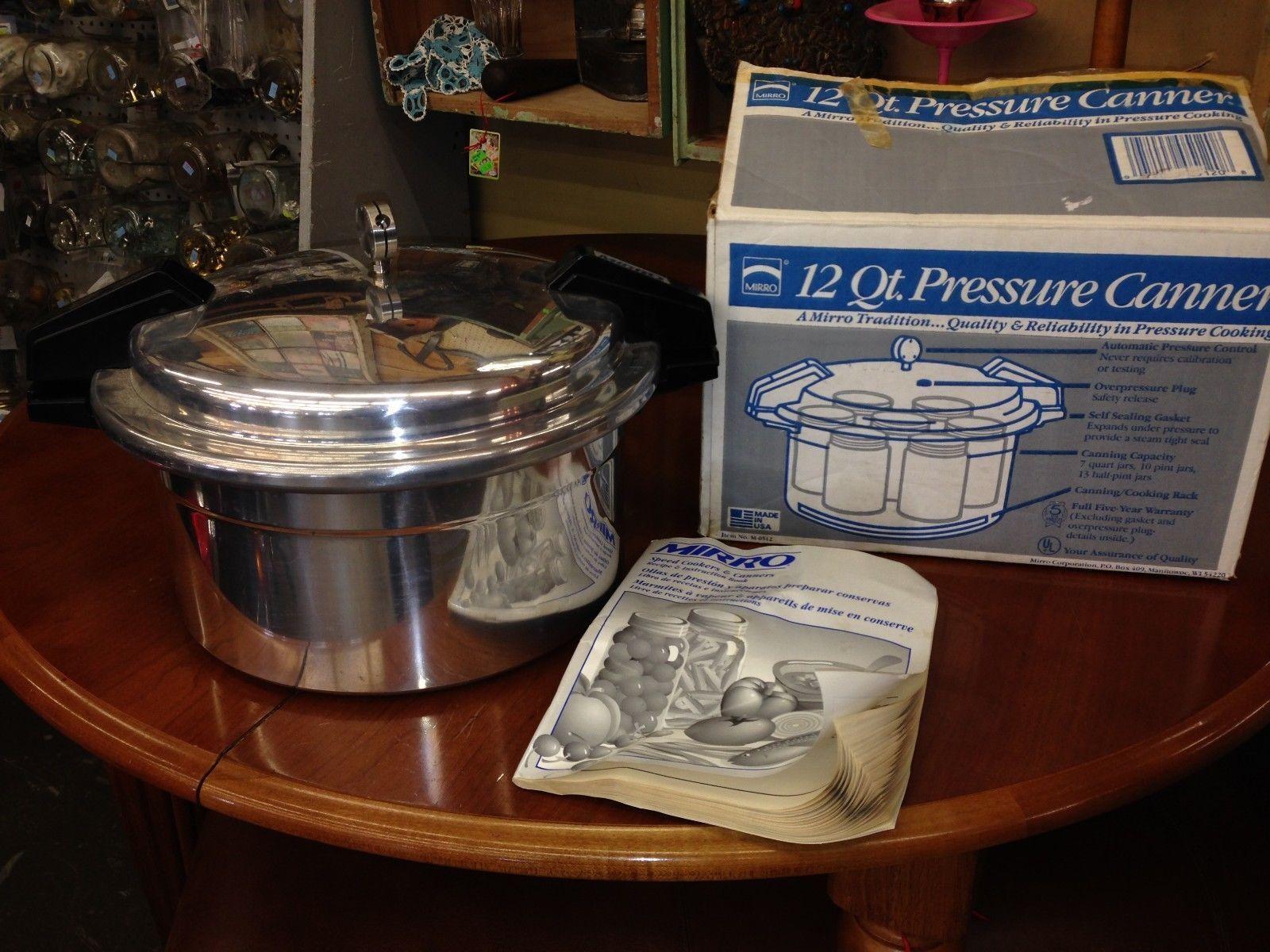 M0512 11 Qt 12 Canner Mirro Cooker Matic Pressure Ebay