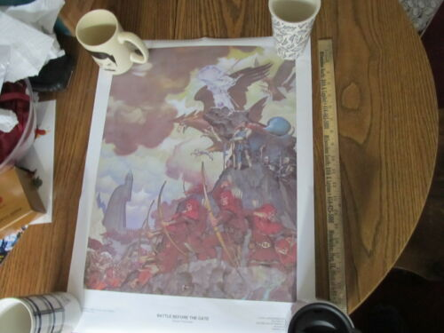 Lord of the Rings vintage 1976 Steve Hickman poster NEW The Dread Vale