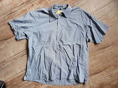 Izod Herren Hemden (Herren Hemd IZOD Blau Kariert Gr. XL Wie Neu)