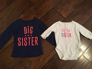 Big Sister / Little Sister tops