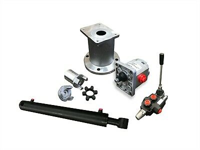 Log Splitter Kit With A Flowfit Double Acting Lever Valve For A Honda Loncin E