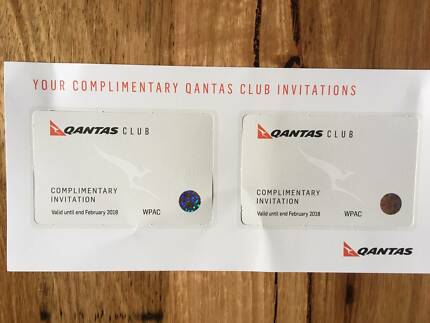 2 x Qantas Lounge Passes (Expire February 2018)