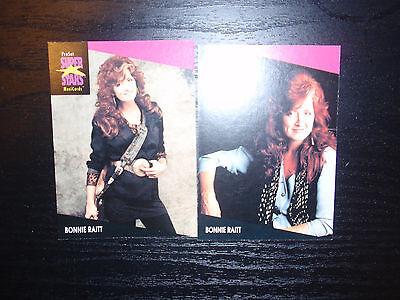 Bonnie Raitt ProSet Super Stars MusiCards US: #222 & #223