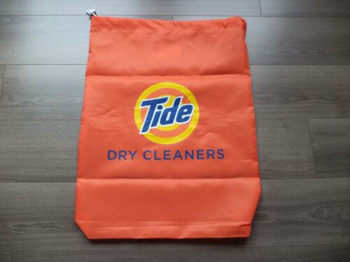 TIDE DETERGENT Laundry Bag Heavy Duty Canvas RARE P&G Gain Bounty Downy NEW