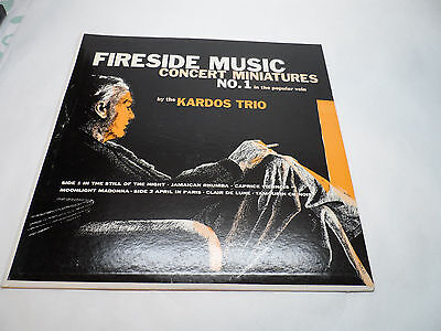 - The Kardos Trio-Fireside Music Concert Miniatures No 1-LP BLUE MILL BLUE VINYL