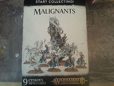 WARHAMMER AGE OF SIGMAR START COLLECTING MALIGNANTS - NEW & SEALED