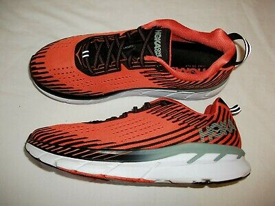 MENS HOKA ONE ONE 'CLIFTON 5 ' RUNNING TRAINERS SIZE 10 UK GOOD CONDITION
