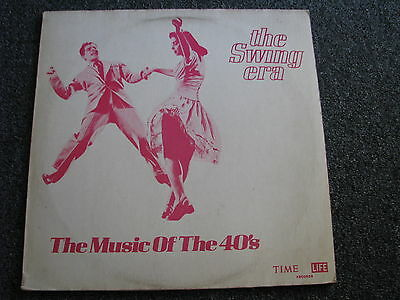 The Swing Era-The Music of the 40´s LP-V/A Sampler-1970 US-Jazz-Album-Time Life