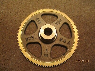 New Other Boston G149 Bronze Worm Gear 48 Dp 120 Teeth 516 Plain Bore.
