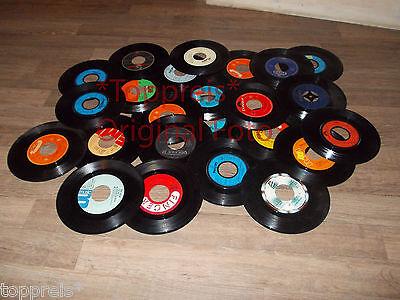 Konvolut 50 Schallplatten 7/inch für Deko   Ihrer Wände u.s.w Dekoschalplatten.