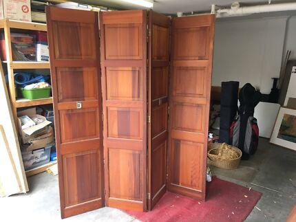 Cedar concertina doors & concertina doors   Home \u0026 Garden   Gumtree Australia Free Local ...