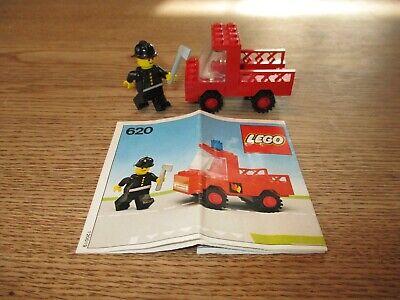 LEGO DENMARK-VINTAGE SET NO 620 - FIRE TRUCK -1970's.