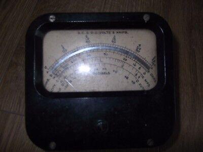 Vintage Amp Meter